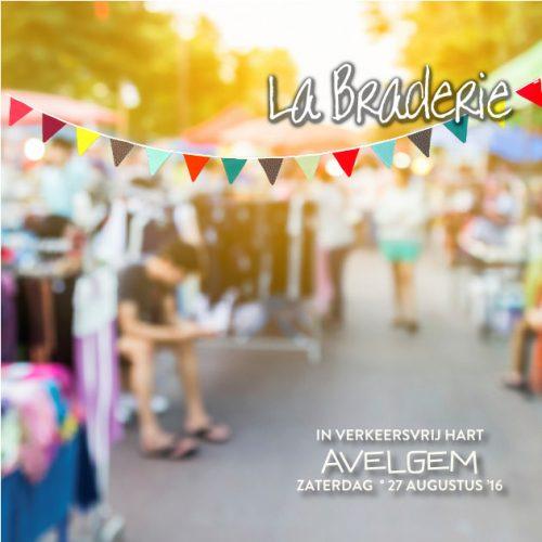 Zaterdag 27 augustus La braderie in Avelgem