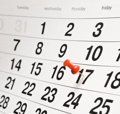 ACTIVITEITEN 2019 kalender online